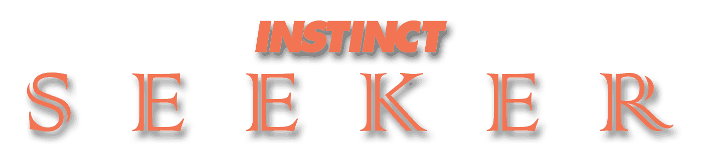 INSTINCT SEEKER Text Logo