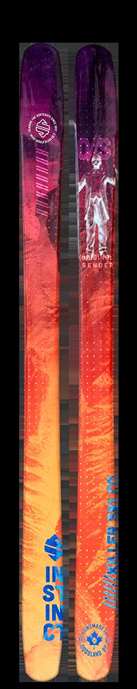 Instinct Skis - Original Sender Ski - Slash Family