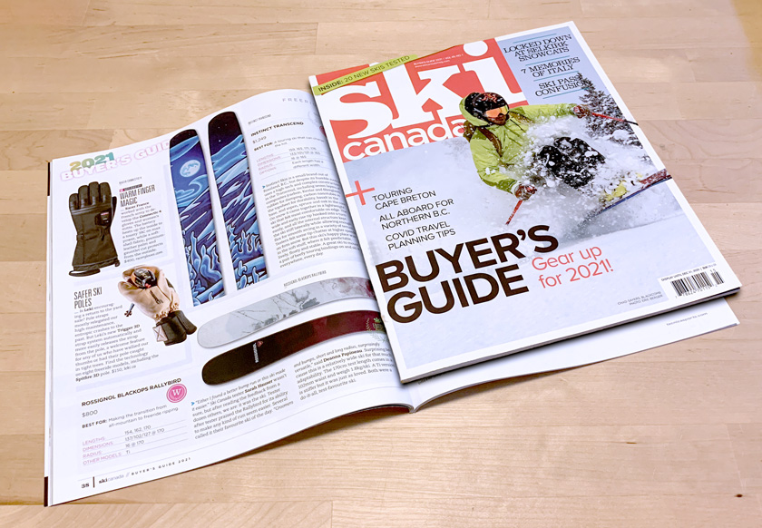 Ski Canada Buyers Guide 2021 - Instinct Skis - Transcend Review